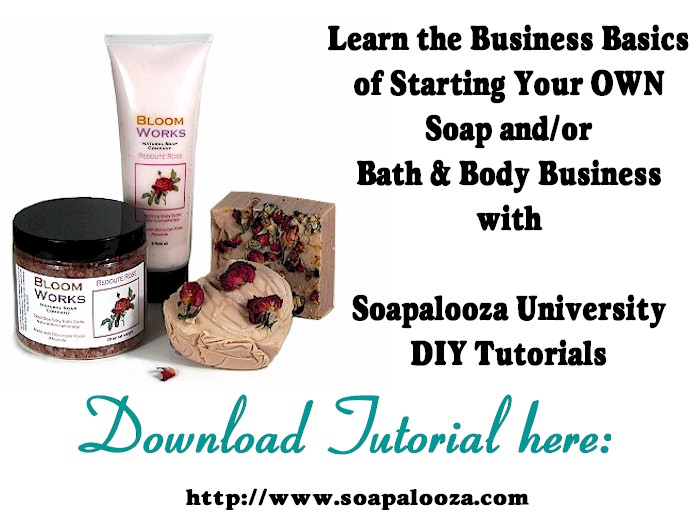 Business Basics for a Soap or Bath & Body Business