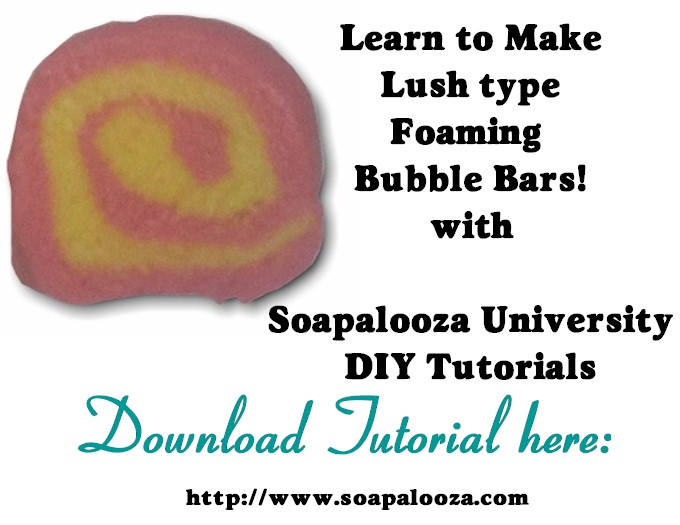 Foaming Bubble Bar Tutorial