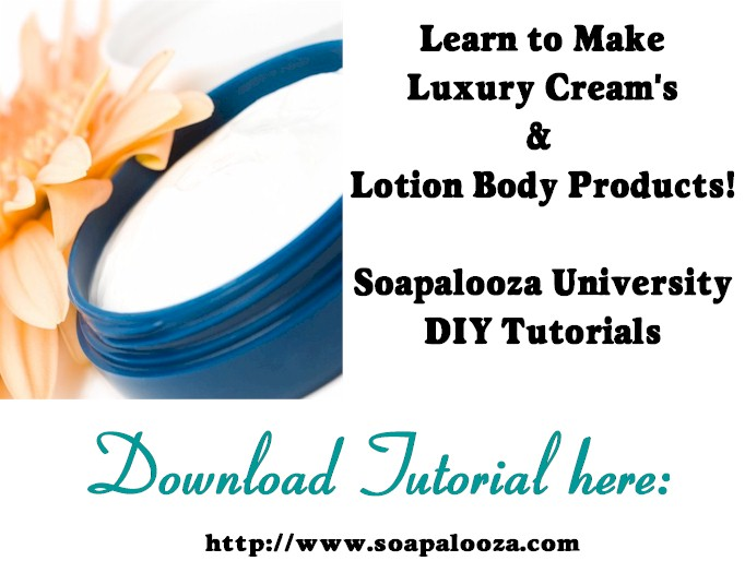 Lotions & Creams Tutorial