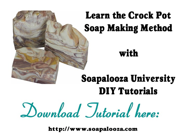 Crock Pot & Hot Process Soap Making - Click Image to Close