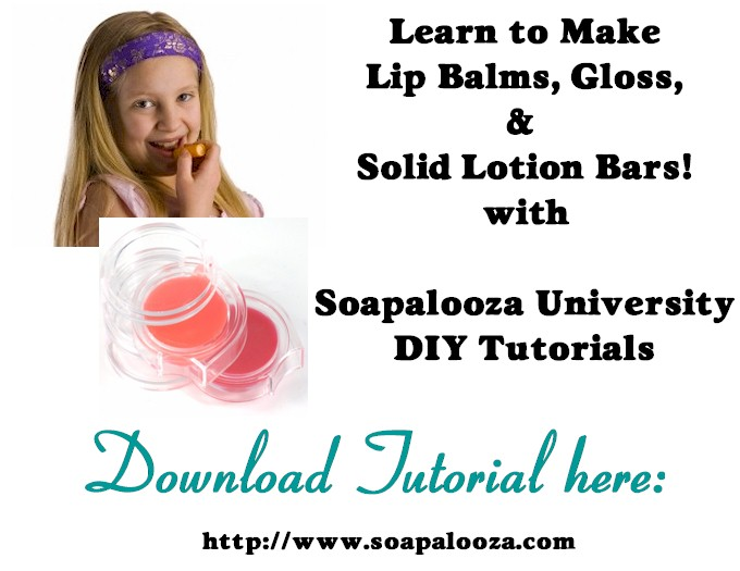 Lip Balm, Lotion & Massage Bar Tutorial
