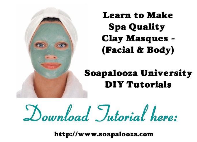 Making Clay Facial Masques Tutorial