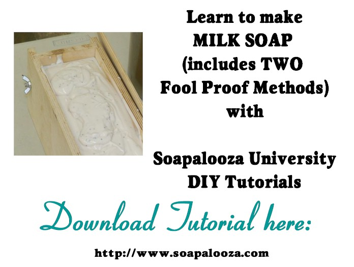 Essentials of Milk Cold Process Soap Making